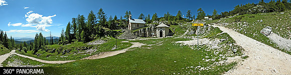 Mount Lozze chapel