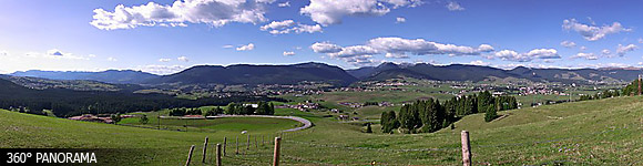 Asiago plateau view from Kaberlaba